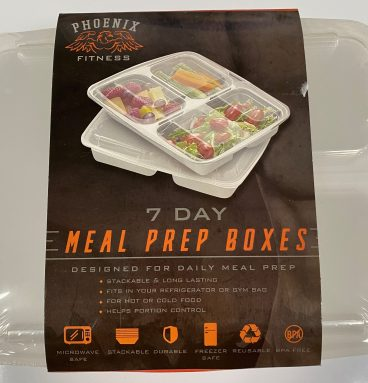 7 Day Meal Prep Boxes